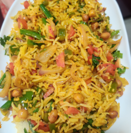 Vegetable Masala Rice Recipe