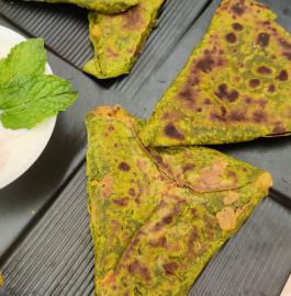 Hara Bhara Paratha Recipe
