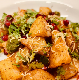 Aloo Chaat | Potato Chaat Recipe