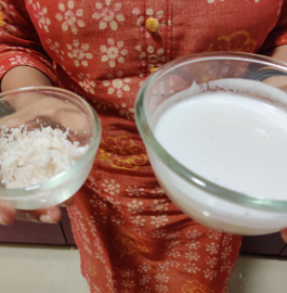 Coconut Milk | Homemade Coconut Milk Recipe
