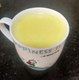 Golden Milk | Turmeric Ginger Milk Recipe