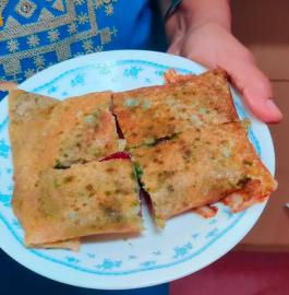Sandwich Dosa | Mumbai Sandwich Dosa Recipe