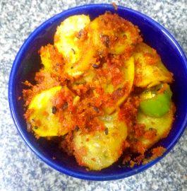 Lauki Besan Sabzi Recipe