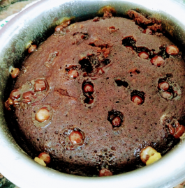 Bourbon Biscuits Cake in Kadhai Recipe