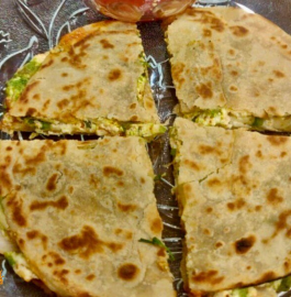 Paneer Sandwich | Roti Paneer Sandwich Recipe