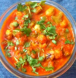 Capsicum Foxnut / Makhana Curry recipe