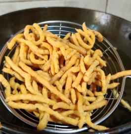 Sev | Homemade Besan Sev Recipe