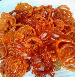 Instant Crispy Jalebi Recipe