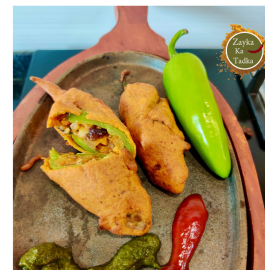 Jodhpuri Mirchi Bada | Chilli Fritters recipe