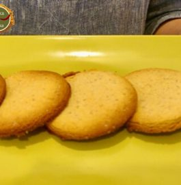 Aata Biscuit | Whole Wheat Cookies