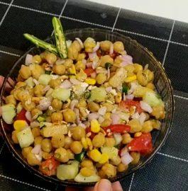 Orange Chickpea Salad Recipe