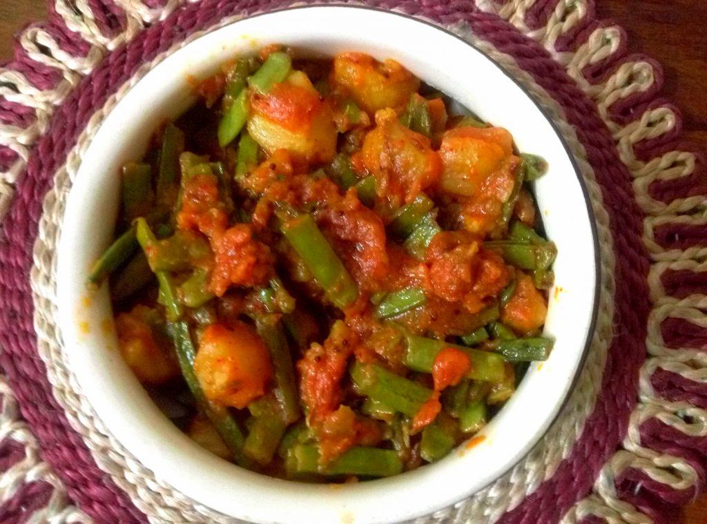 Aloo Gawar Ki Sabzi Recipe
