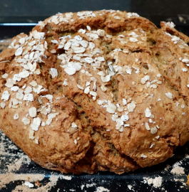 Homemade Bread Without Yeast | Soda Bread Recipe