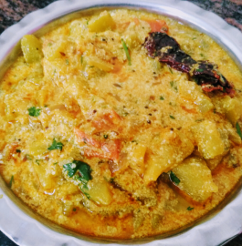 Lauki in Curd Gravy Recipe