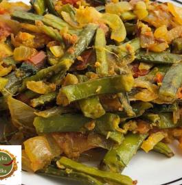 Pyaaz Gawar Phali Sabzi Recipe