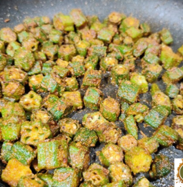 Bhindi Ki Sabzi | Okra Fry Without Onion Recipe