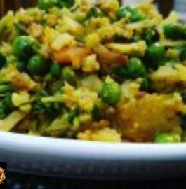Cauliflower Bhurji Recipe