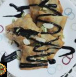 Chocolate Samosa Recipe