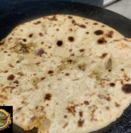 Gobhi Paneer Paratha Recipe