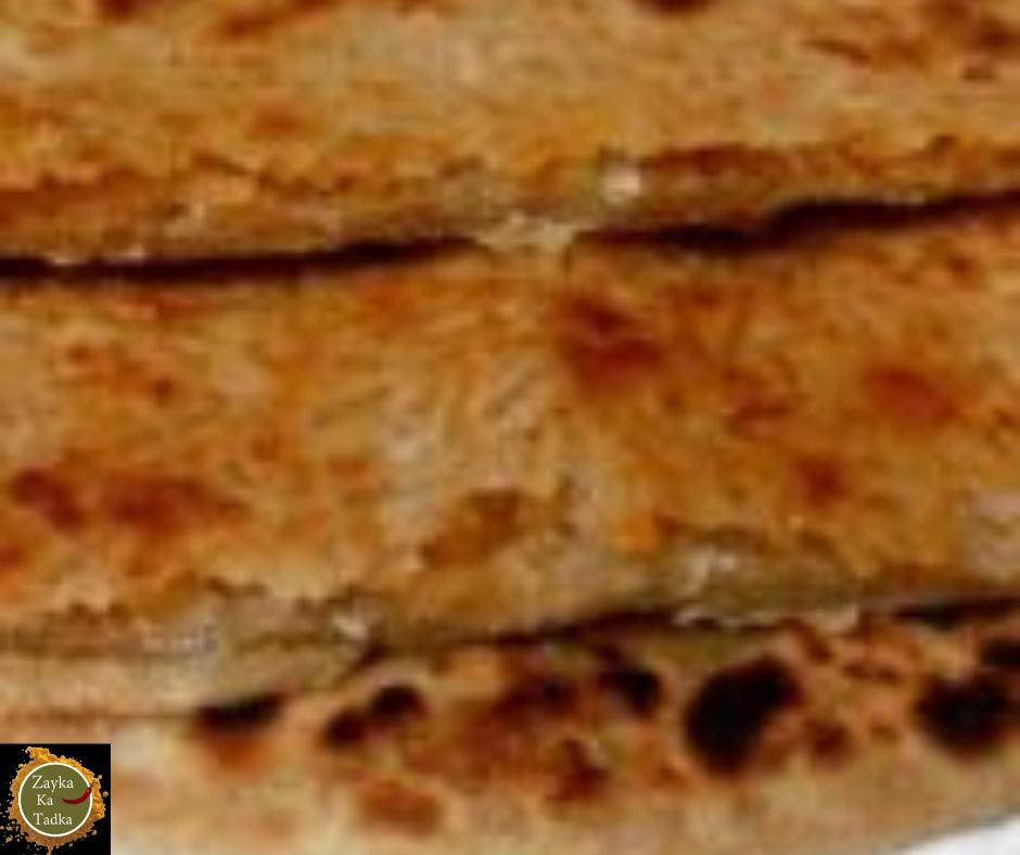 Leftover Rice And Jaggery Paratha Recipe