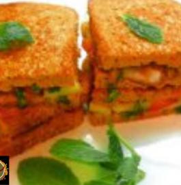 Mint Onion Sandwich Recipe