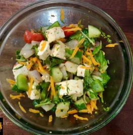 Paneer Salad Recipe