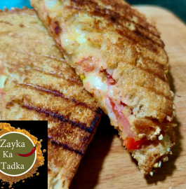 Tomato Cheese Grilled Sandwich Recipe