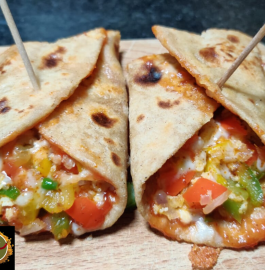 Veg Paneer Cheese Wrap | Veggie Wrap Recipe