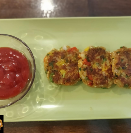 Vegetable Tikki Vegetable Cutlet Recipe