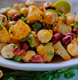 Aloo Makhana Chaat | Makhana Chaat Recipe
