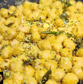 Channa Sundal | Chickpea Sundal Recipe