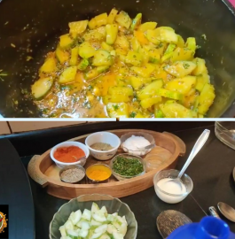 Cucumber Sabzi Recipe