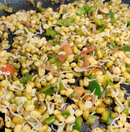 How to Sprout a Moong And Stir-Fry Recipe