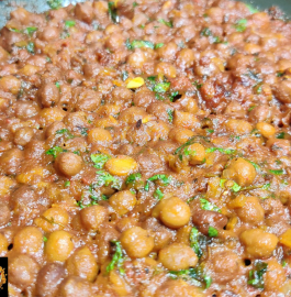 Kala Chana Sabji | Black Chickpea Sabji Recipe