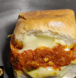 Mini Pav Bhaji Sandwich Recipe