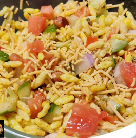 Murmure Chaat | Puffed Rice Chaat Recipe