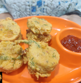 Schzewan Cheese Coin Vada Recipe