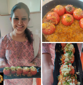 Stuffed Tomato | Bharva Tamatar Recipe