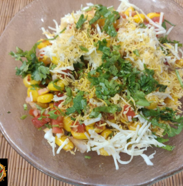 Corn Chaat | Corn Bhel Recipe