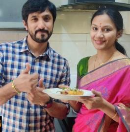 Cut Mirchi Bajji | Mirapakaya Bajji | Andhra Style Stuffed Bajji Recipe