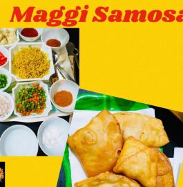 Maggi Samosa Recipe