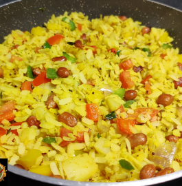 Mix Veg Poha Recipe