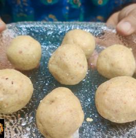Peanuts Sesame Ladoo | Fasting Ladoo | Healthy Ladoo Recipe
