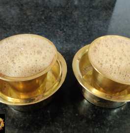 Traditional South Indian Style Filter Coffee | Filter Coffee Recipe