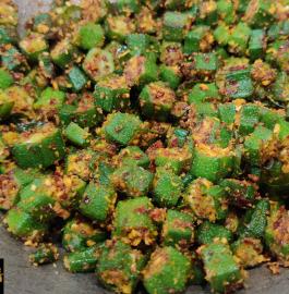 Bendekayi Palya | Bhindi Sabji Recipe