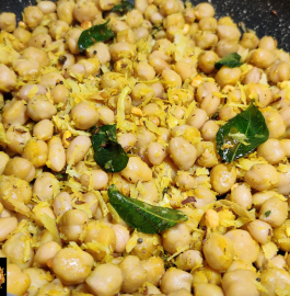 Chickpea Sundal | Chana Sundal Recipe