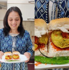 Mumbai Ka Vada Pav Street Style Recipe