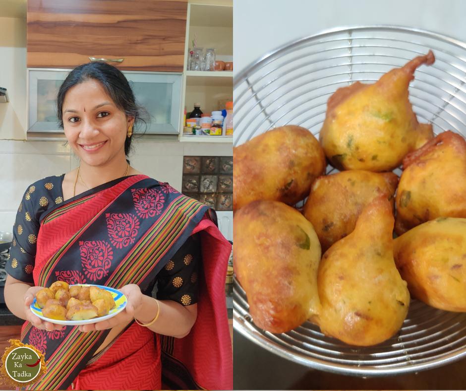Mysore Bajji | Mysore Bonda | Goli Bajji - Karnataka Famous Tea Time Snack Recipe