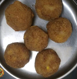 Cheese Corn Balls Recipe