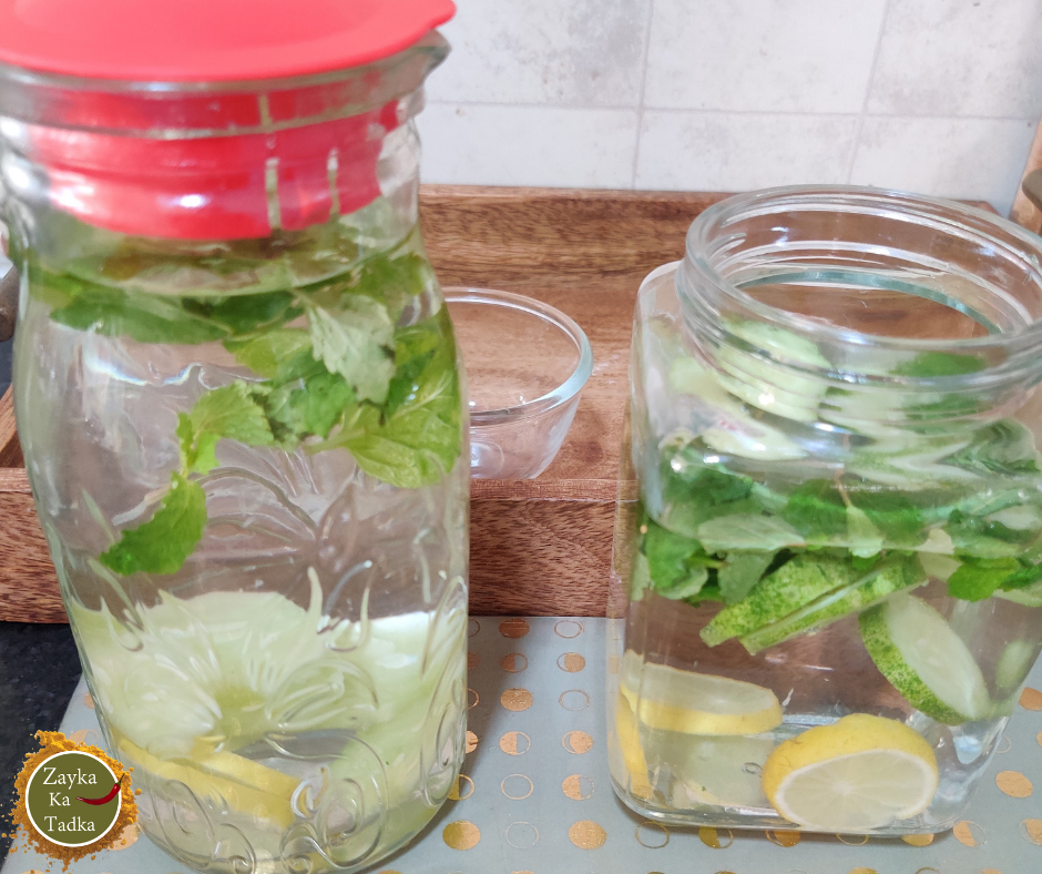 Detox Water | Infused Water Recipe